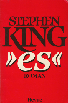 "Buchcover: Stephen King – ""es"""