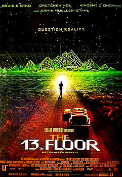 Kinoplakat: The 13th Floor
