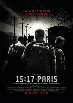 Plakatmotiv: 15:17 to Paris (2018)