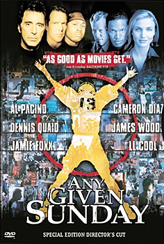 DVD-Cover (US): Any given Sunday