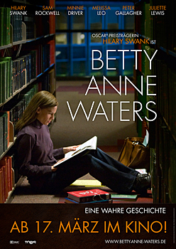 Kinoplakat: Betty Anne Waters
