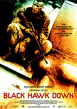 Kinoplakat: Black Hawk Down
