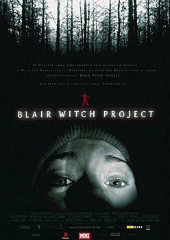 Kinoplakat: Blair Witch Project