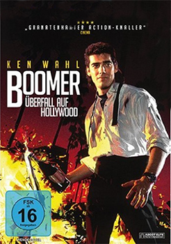 DVD-Cover: Boomer – Überfall auf Hollywood