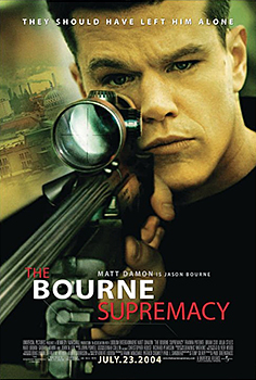 Kinoplakat (US): The Bourne Supremacy