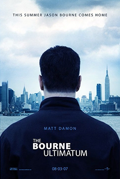 Kinoplakat (US): The Bourne Ultimatum