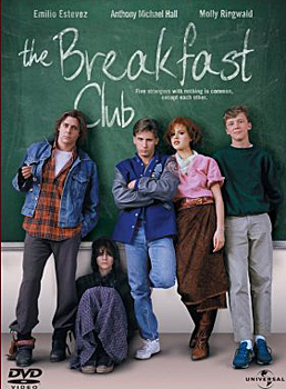 DVD-Cover (US): The Breakfast Club – Der Frühstücksclub
