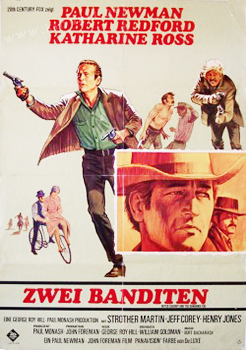 Kinoplakat: Zwei Banditen – Butch Cassidy and the Sundance Kid