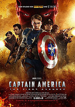 Kinoplakat: Captain America – The First Avenger