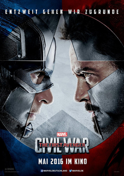 Kinoplakat: Captain America – Civil War