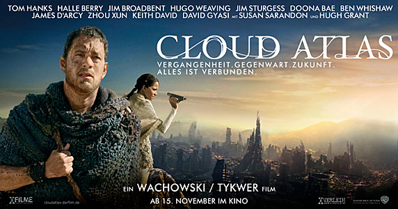 Kinoplakat: Cloud Atlas