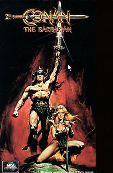 Kinoplakat (US): Conan, the Barbarian
