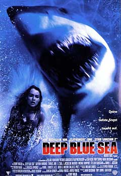 Kinoplakat: Deep Blue Sea