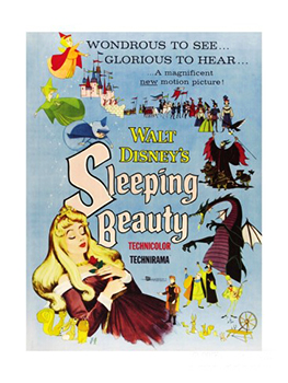 Kinoplakat (US): Dornröschen – Sleeping Beauty