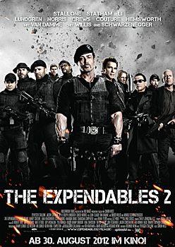 Kinoplakat: The Expendables 2