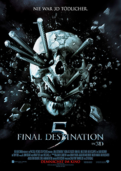 Kinoplakat: Final Destination 5