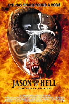 Kinoplakat (US): Jason goes to Hell – die Endabrechnung