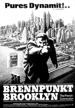 Kinoplakat: The French Connection – Brennpunkt Brooklyn