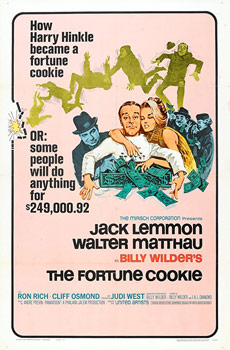 Plakatmotiv (US): The Fortune Cookie (1966)