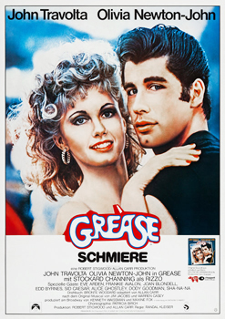 Kinoplakat: Grease – Schmiere