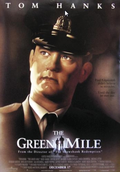 Kinoplakat (US): The Green Mile