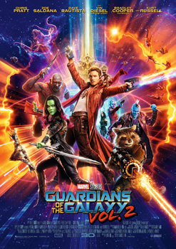 Kinoplakat: Guardians of the Galaxy, Vol. 2