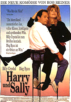Kinoplakat: Harry und Sally
