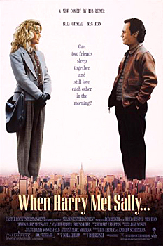 Kinoplakat (US): When Harry met Sally