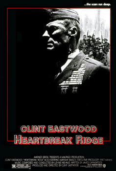 Plakatmotiv: Heartbreak Ridge (1986)