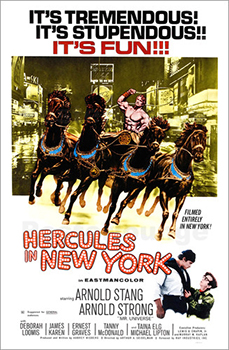 Kinoplakat (US): Hercules in New York