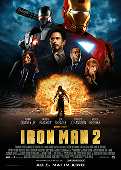 Kinoplakat: Iron Man 2