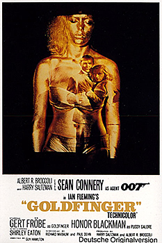 Kinoplakat: James Bond 007 – Goldfinger