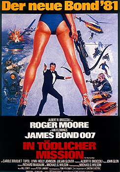 Kinoplakat: James Bond 007 – In tödlicher Mission
