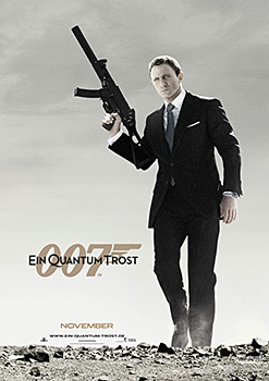 Kinoplakat: James Bond 007 – Ein Quantum Trost