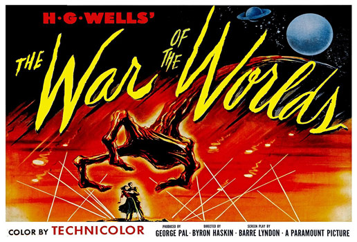 Plakatmotiv (US): War of the Worlds (1953)