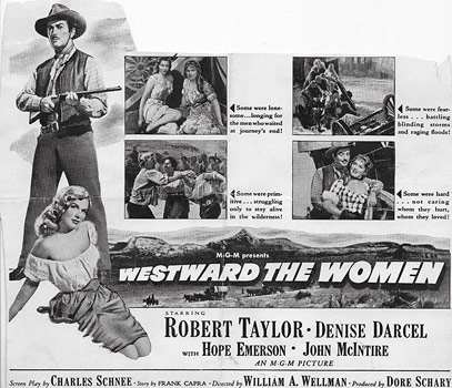 Plakatmotiv (US): Westward the Women (1951)