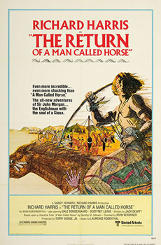 Plakatmotiv (US): The Return of the Man called Horse (1976)