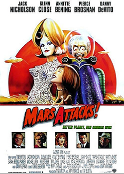 Kinoplakat: Mars Attacks!