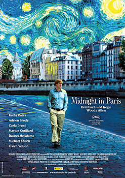 Kinoplakat: Midnight in Paris