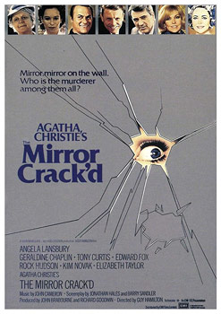 Plakatmotiv (US): The Mirror crack'd – Mord im Spiegel (1980)