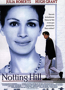 Kinoplakat: Notting Hill