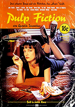 Kinoplakat. Pulp Fiction