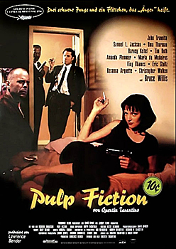 Kinoplakat: Pulp Fiction
