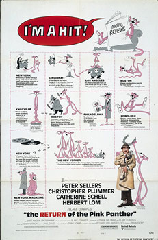 Plakatmotiv (US): The Return of the Pink Panther (1975)