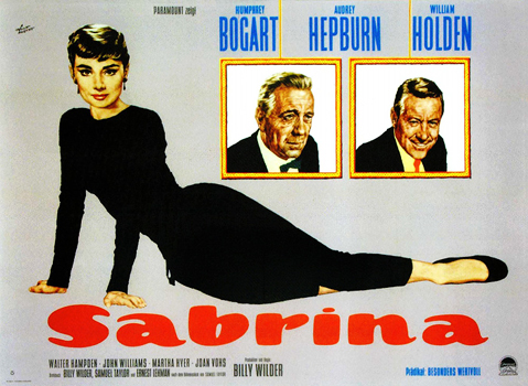 Plakatmotiv: Sabrina (Billy Wilder, 1954)