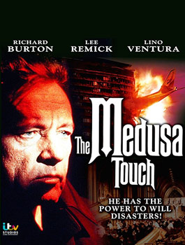 Videocover (UK): The Medusa Touch – Der Schrecken der Medusa