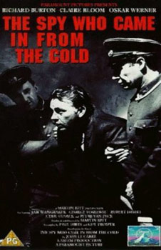 Videocover (UK): The Spy who came in from the Cold – Der Spion, der aus der Kälte kam (1965)