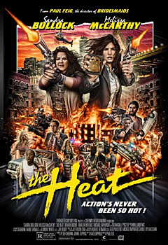 Kinoplakat (US): The Heat – Taffe Mädels