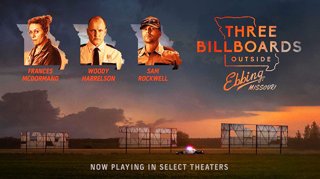 Plakatmotiv: Three Billboards Outside Ebbing, Missouri (2017)