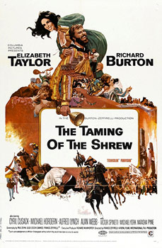 Plakatmotiv (UK): The Taming of the Shrew (1967)